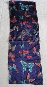 Echo Multi Coloured Butterfly Silk Scarf